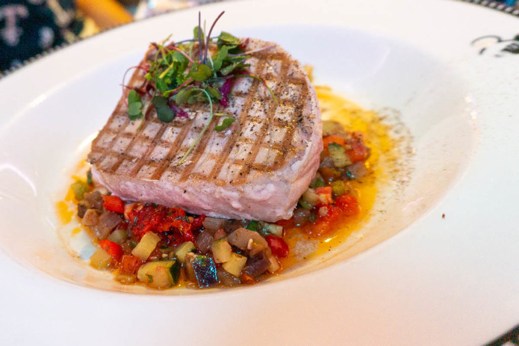 Animator's Palate Grilled Tuna Steak