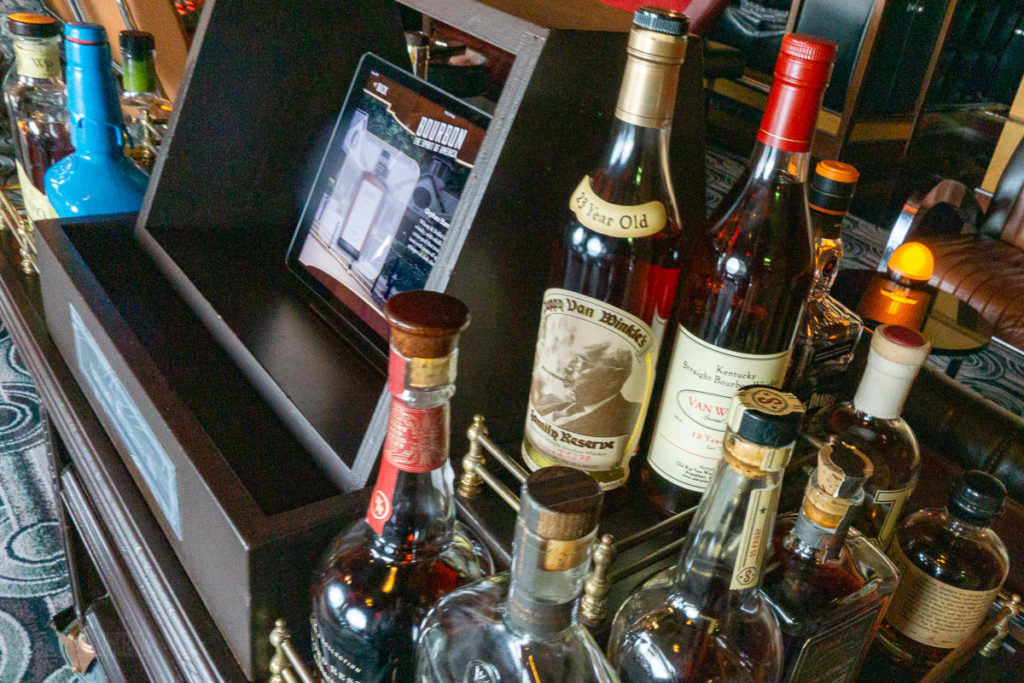 Cadillac Lounge Bourbon Experience Pappy Van Winkle's 23 Year 12