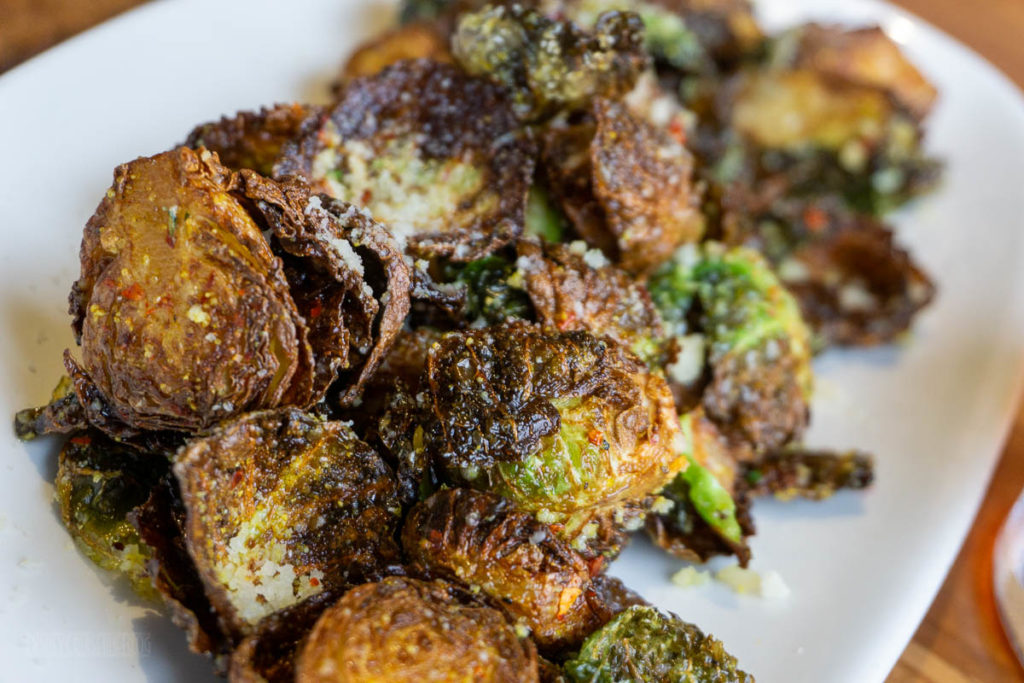 Cardero's Restaurant Brussel Sprouts
