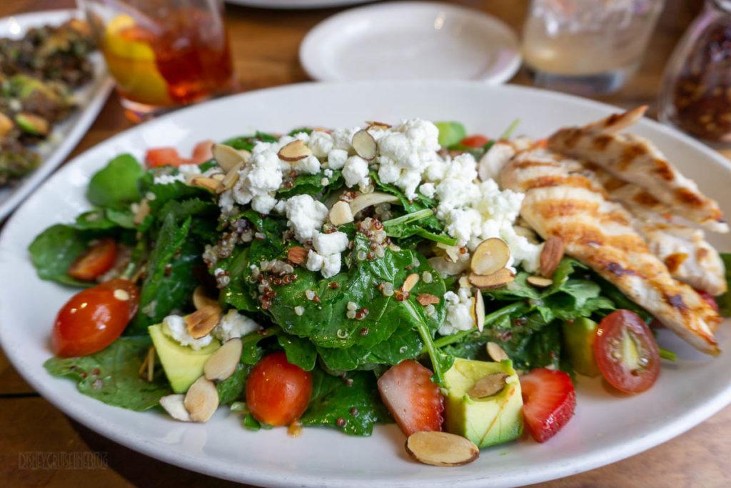 Cardero's Restaurant Kale Quinua Salad