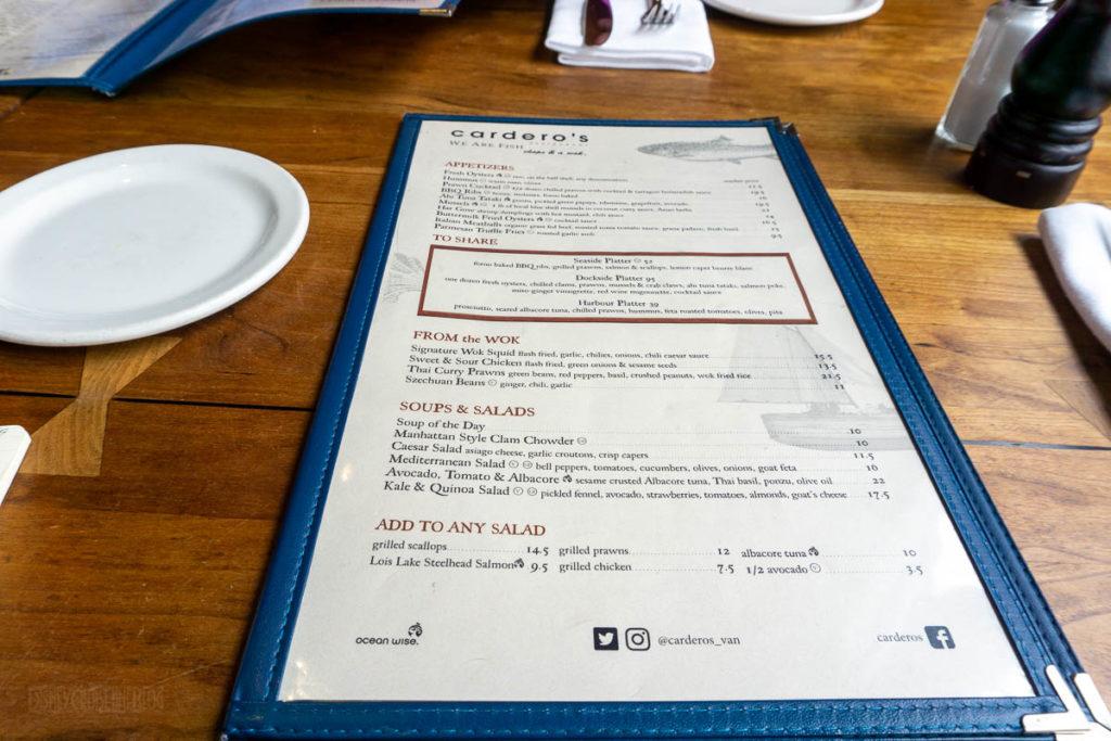Cardero's Restaurant