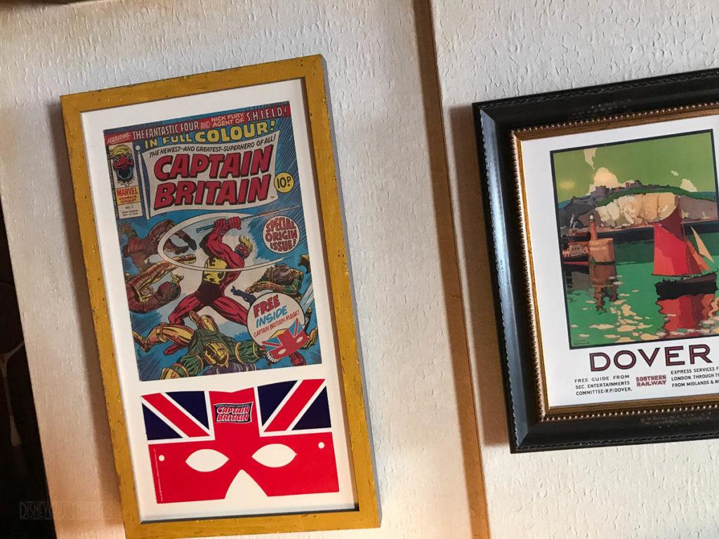 Crown Fin 90s Marvel Captain Britain Comic Book