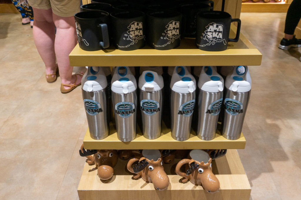 DCL Alaska Merch Beverage Containers