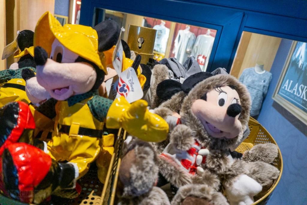 DCL Alaska Merch Mickey Minnie Plush