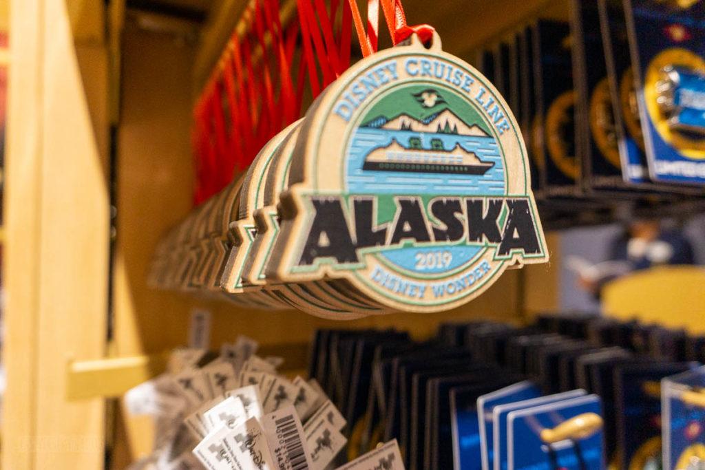 DCL Alaska Merch Ornament