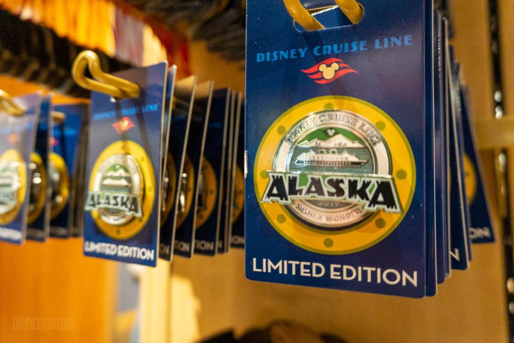 DCL Alaska Merch Pins