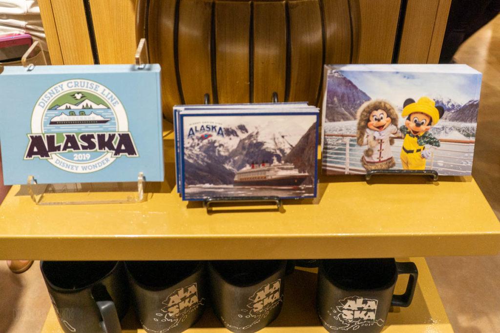 DCL Alaska Merch Post Cards