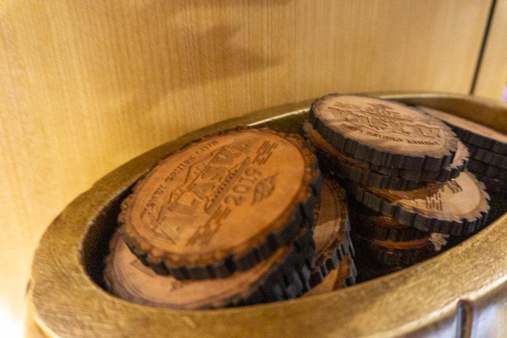 DCL Alaska Merch Wood Coasters