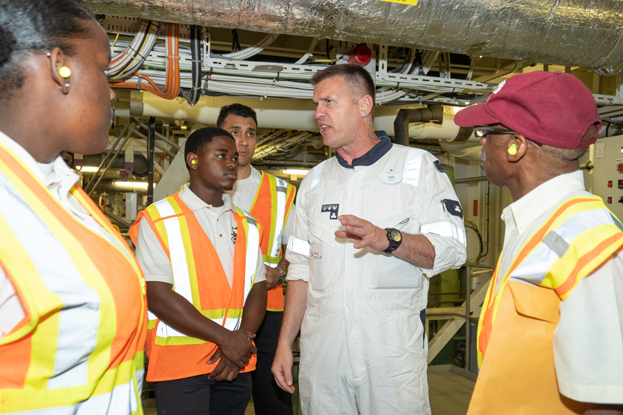 Disney Hosts Students from the Bahamas Maritime Cadet Corps for Day