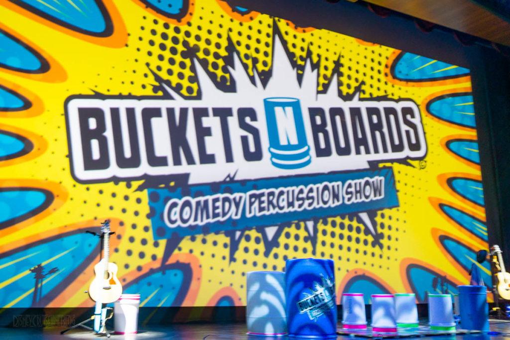 Disney Wonder Buckets N Boards Walt Disney Theatre
