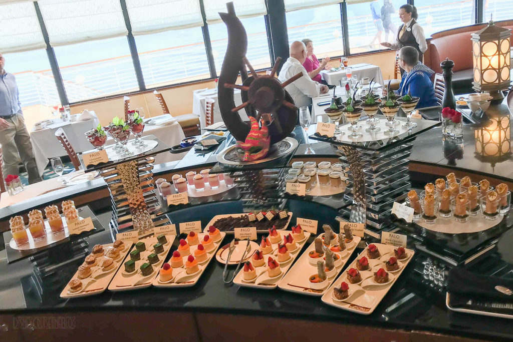 Disney Wonder Palo Brunch Buffet Selections