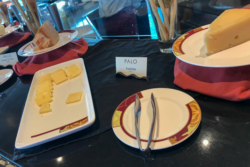 Disney Wonder Palo Brunch Cheese