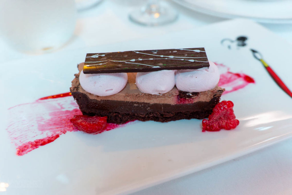 Frozen Dinner Elsa's Chocolate And Raspberry Tart