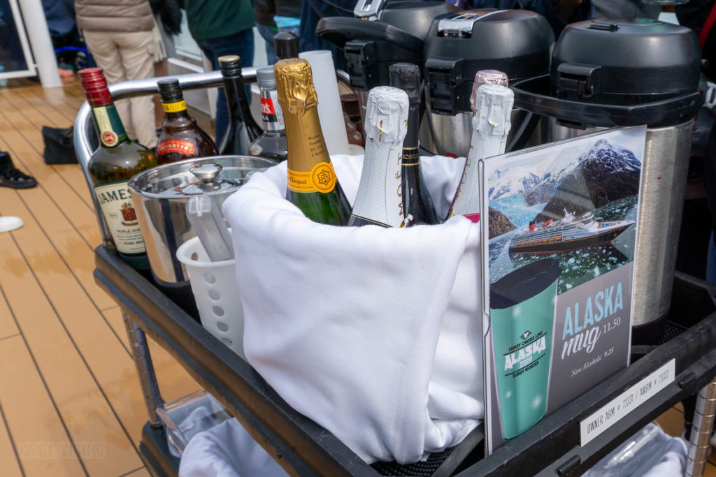 Hubbard Glacier Alaska Mug Drink Cart