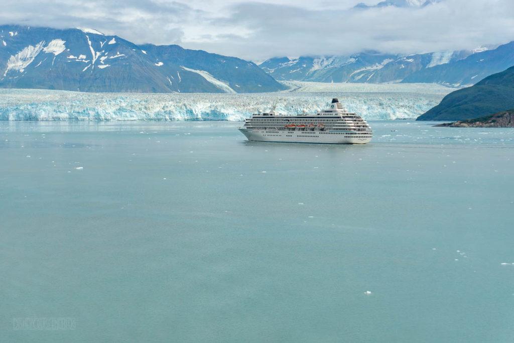 Hubbard Glacier Crystal Symphony Cruise Ship