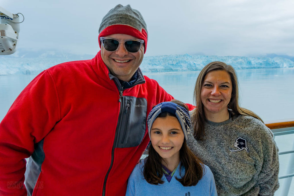 Hubbard Glacier Family Photo