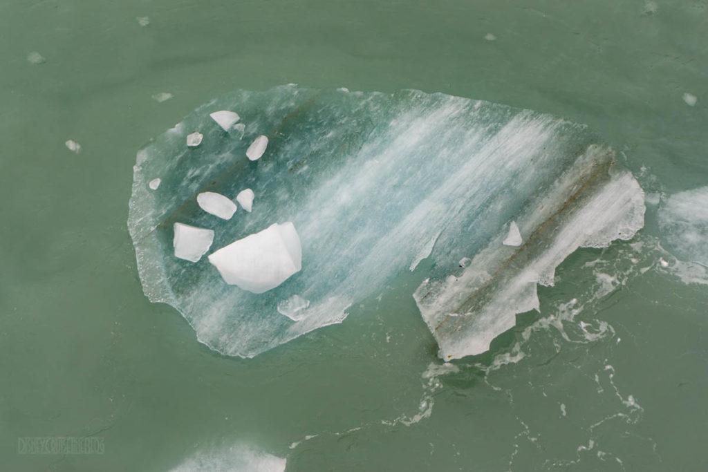 Hubbard Glacier Ice Flow
