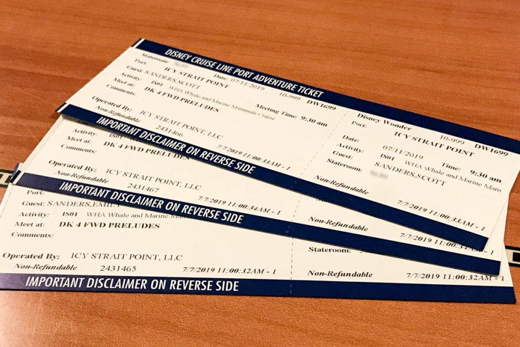 Icy Strait Point Whale Marine Mammals Cruise IS01 Tickets
