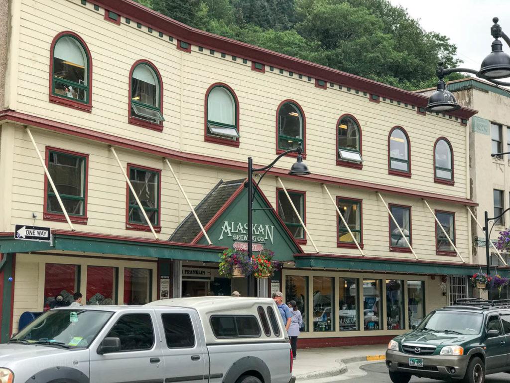 Juneau Alaskan Brewing Company Depot