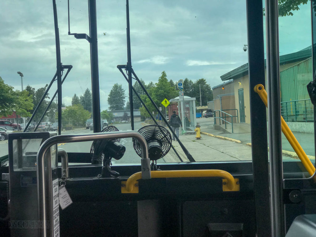 Juneau Capital Transit Bus 4 Mendenhall Valley Downtown Transfer