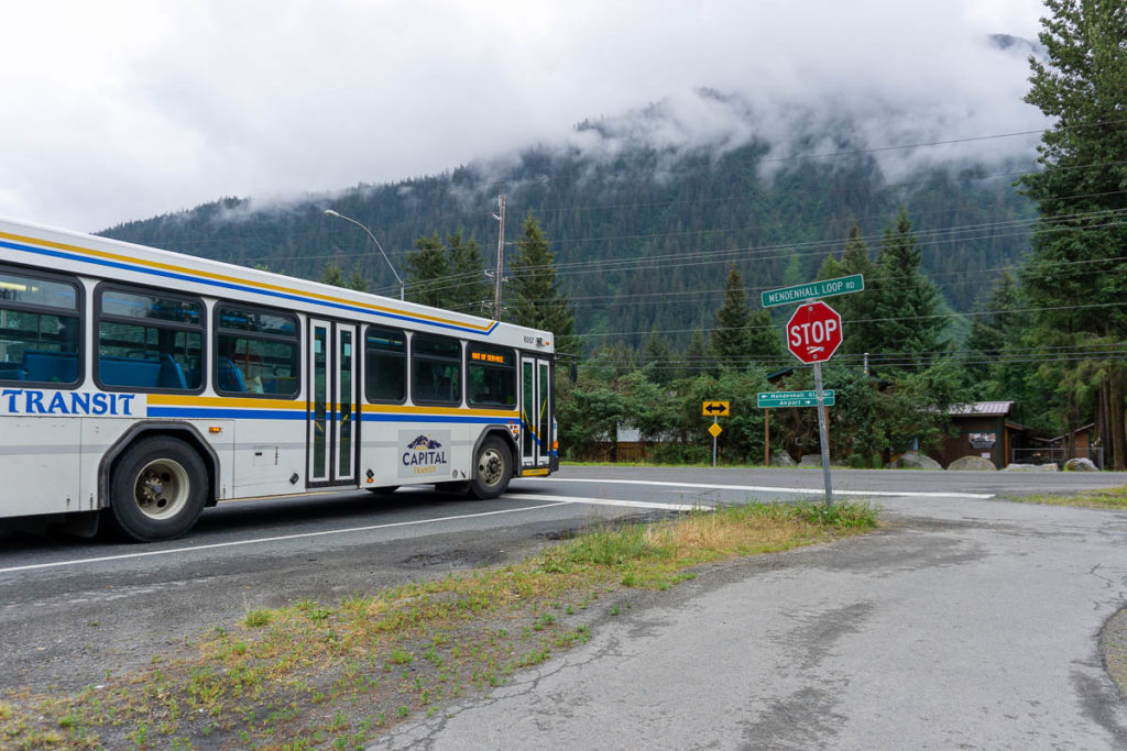Juneau Capital Transit Bus 4 Mendenhall Valley End Of Line
