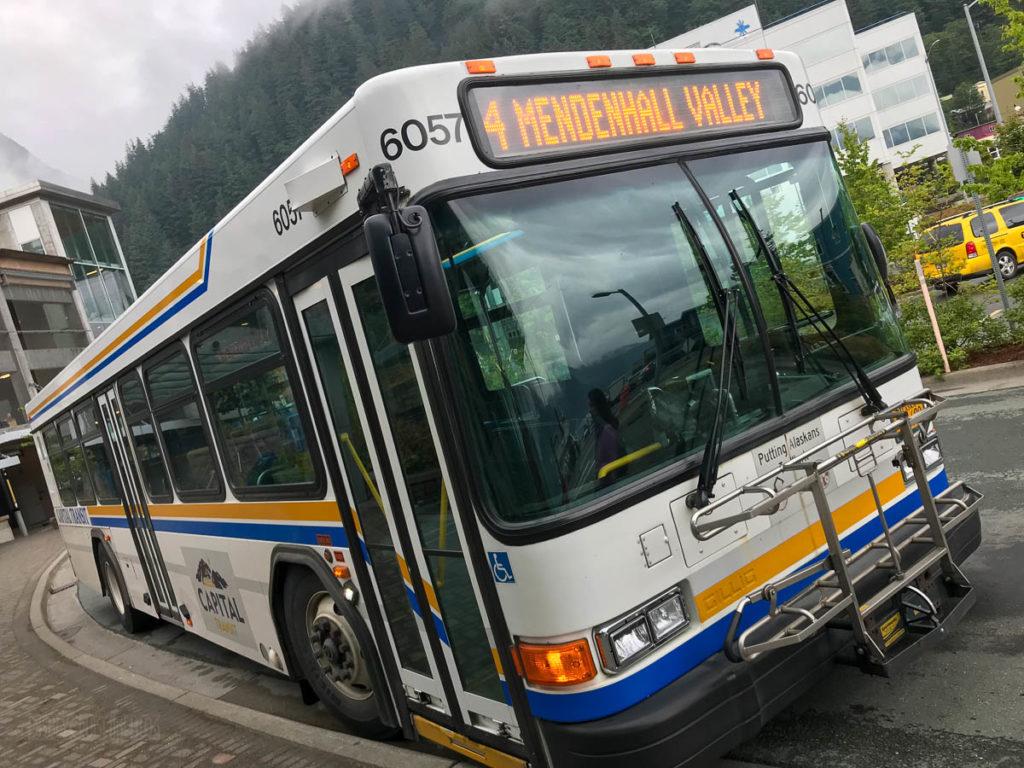 Juneau Capital Transit Bus 4 Mendenhall Valley