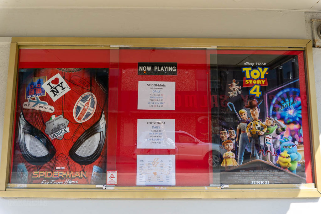Ketchikan Movie Theatre Spider Man Toy Story 4