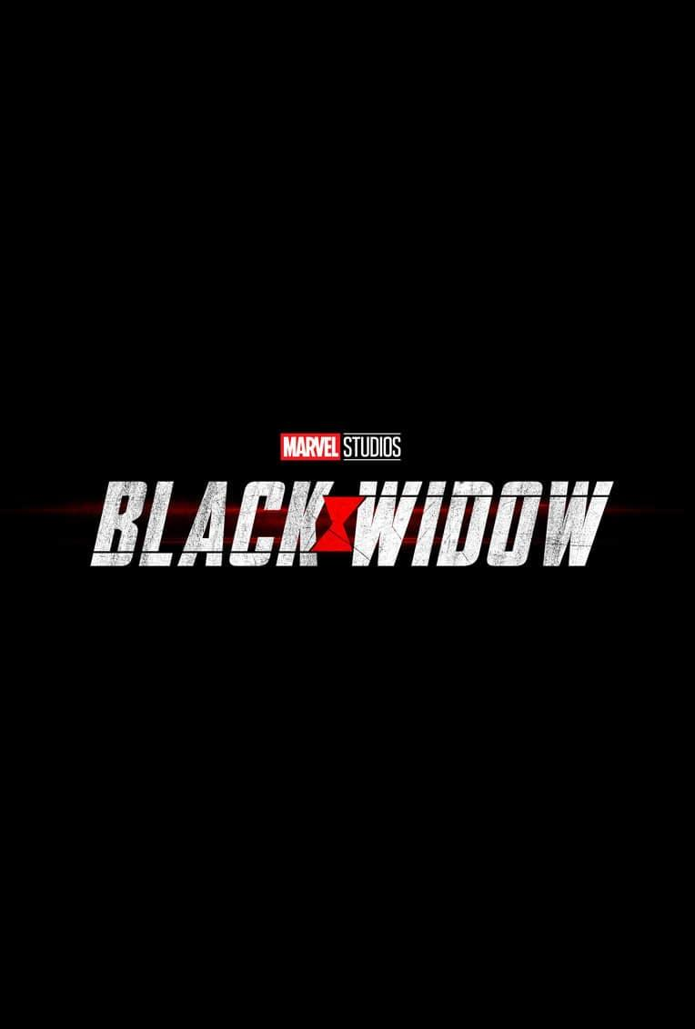 Marvel Movie Poster Black Widow Title Card