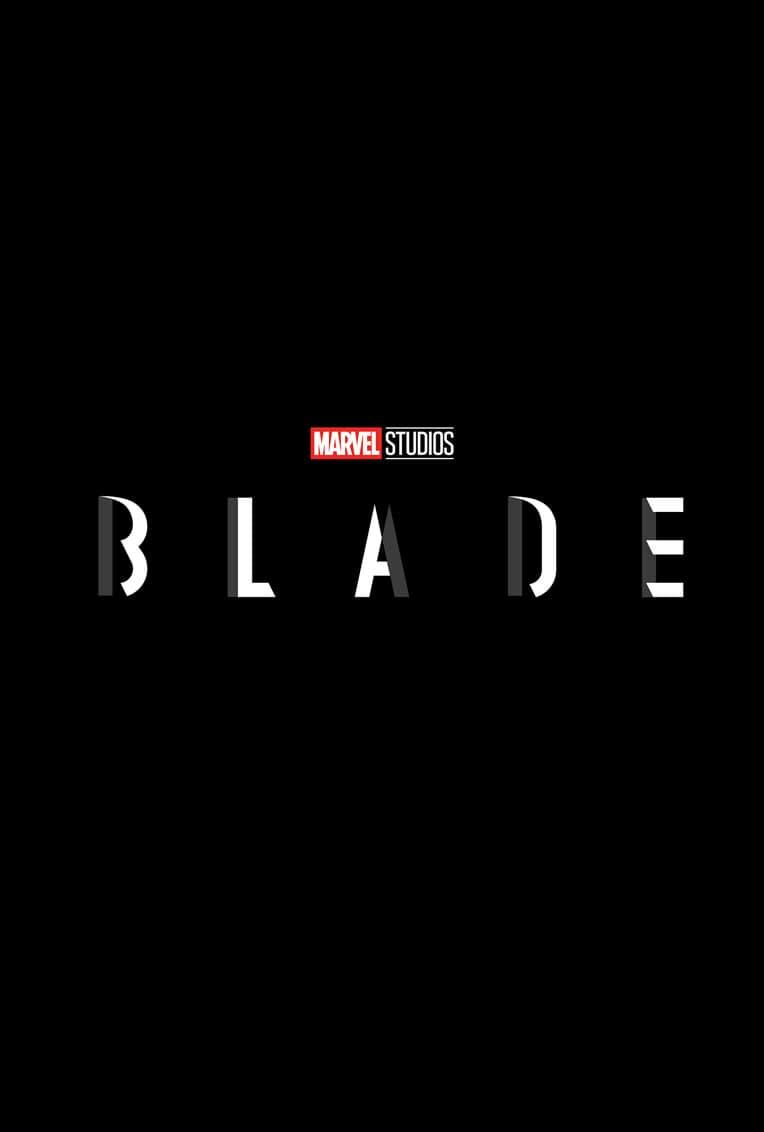Marvel Movie Poster Blade Title Card