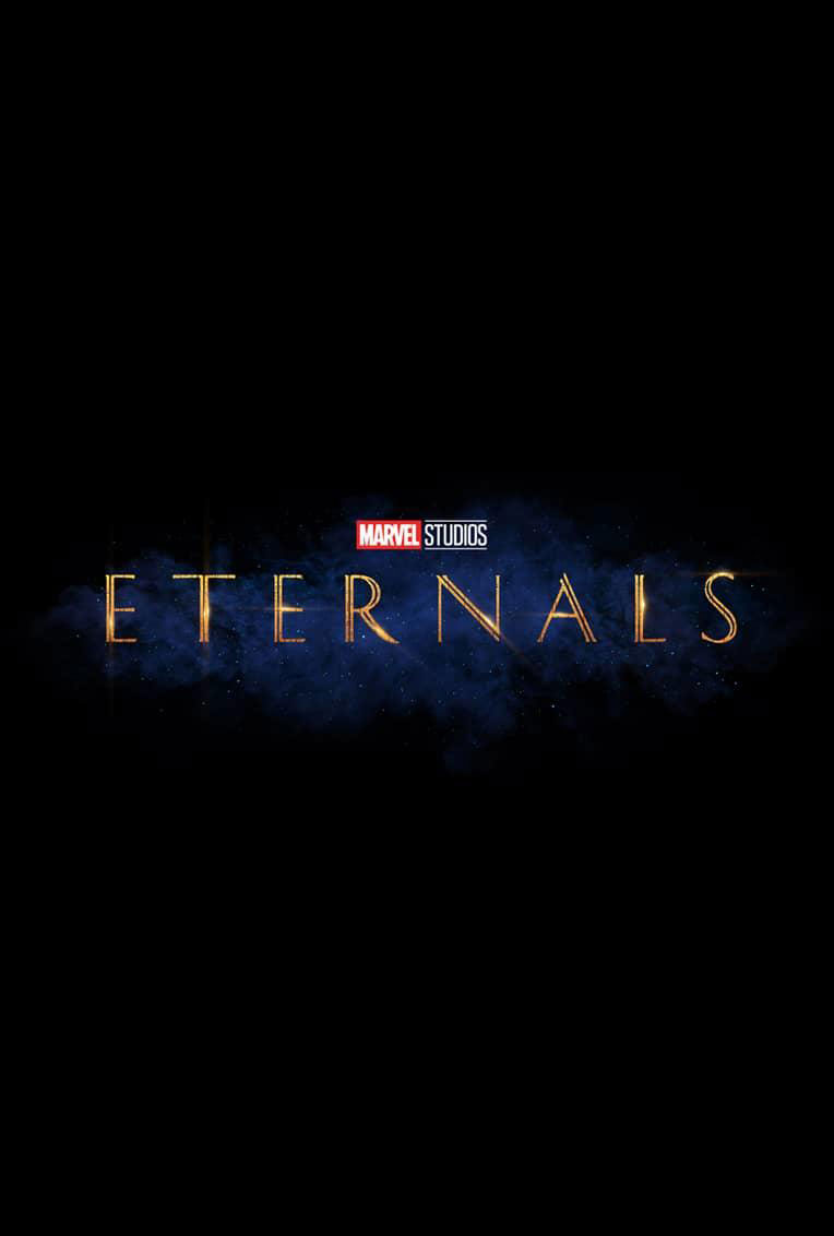 Marvel Movie Poster Eternals Title Card