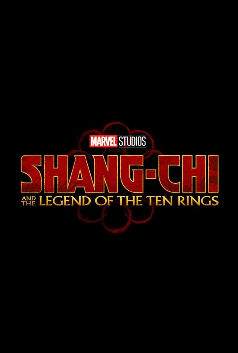 Marvel Movie Poster Shang Chi Title Card