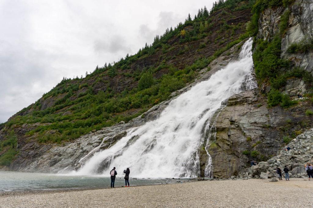 Mendenhall Glacier Nugget Falls