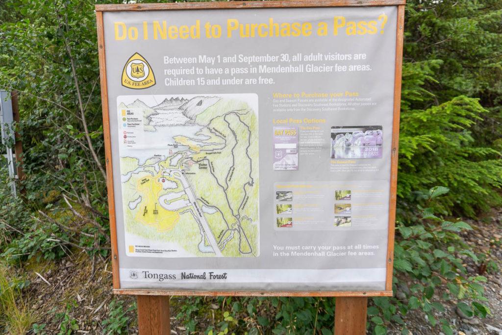 Mendenhall Glacier Pass Information