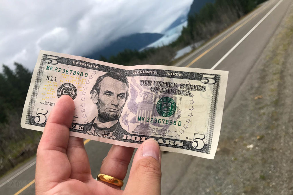 Mendenhall Glacier Walkout Money