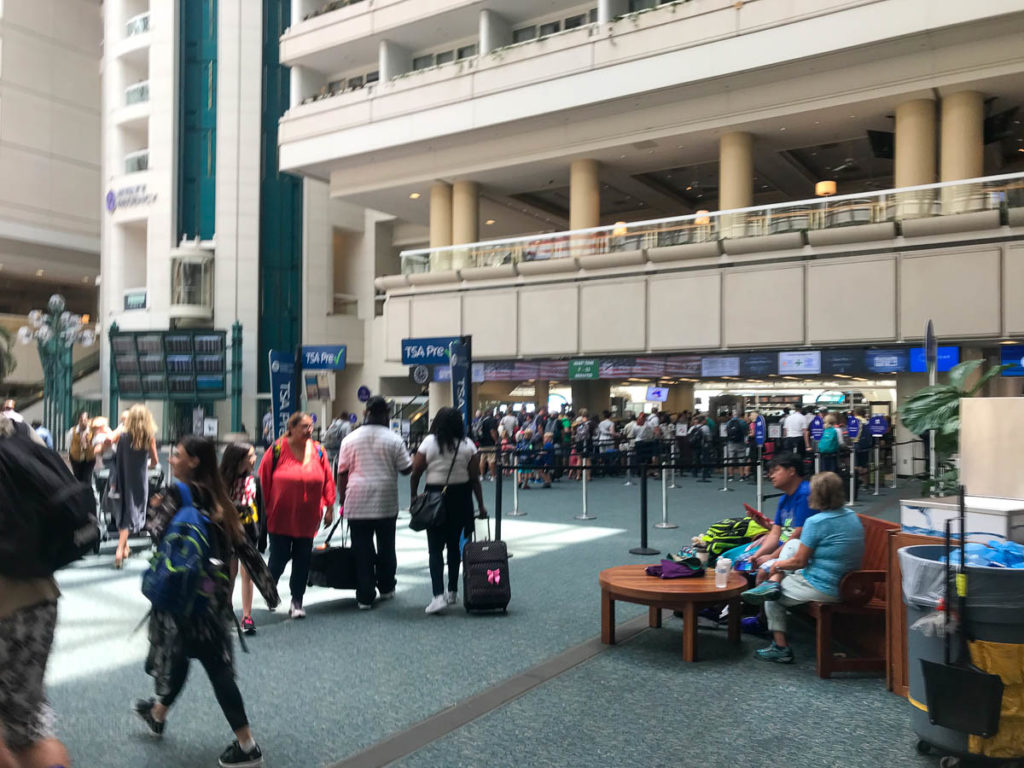 Orlando International Airport MCO Pre Check
