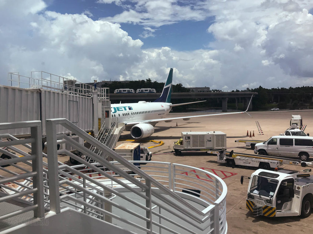 Orlando International Airport MCO WestJet