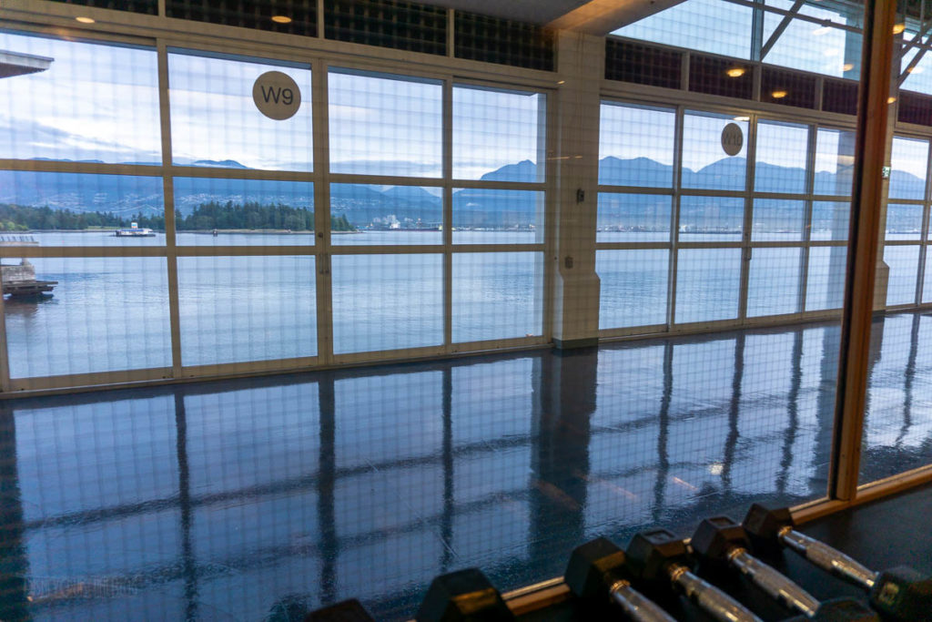 Pan Pacific Fitness Center View