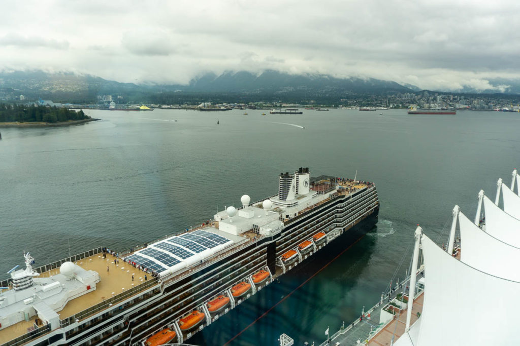 Pan Pacific Hotel View Noordam Departure