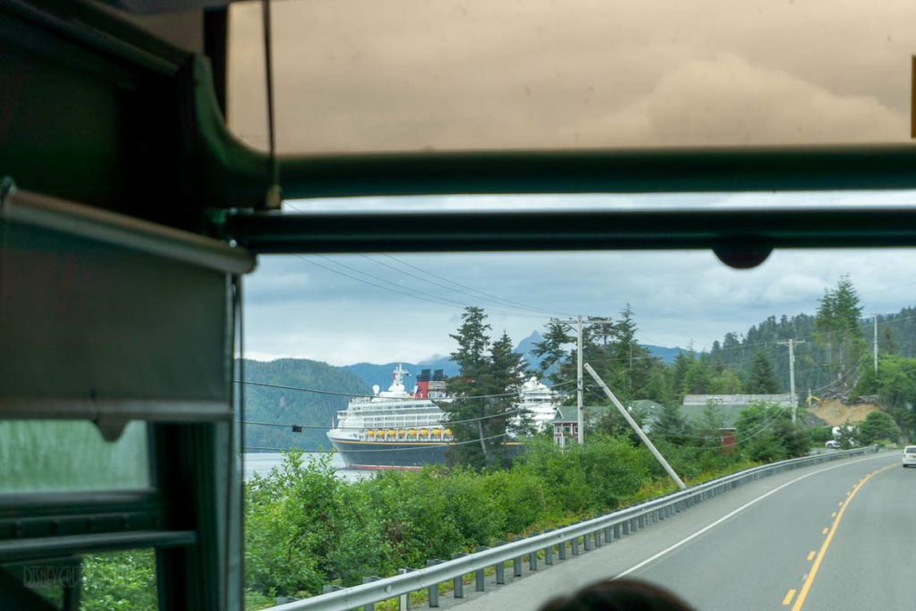 Sitka Disney Wonder Shuttle Bus
