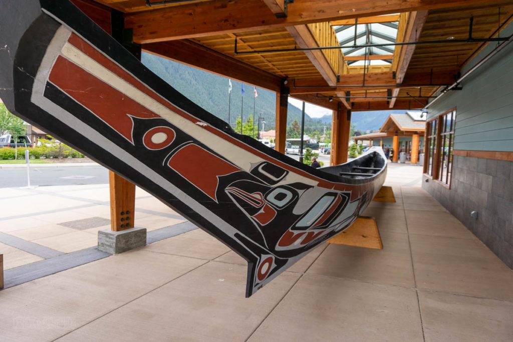 Sitka Harrigan Centennial Hall Tlingit Ceremonial Canoe