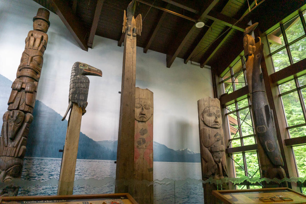 Sitka National Historical Park Totem Pole