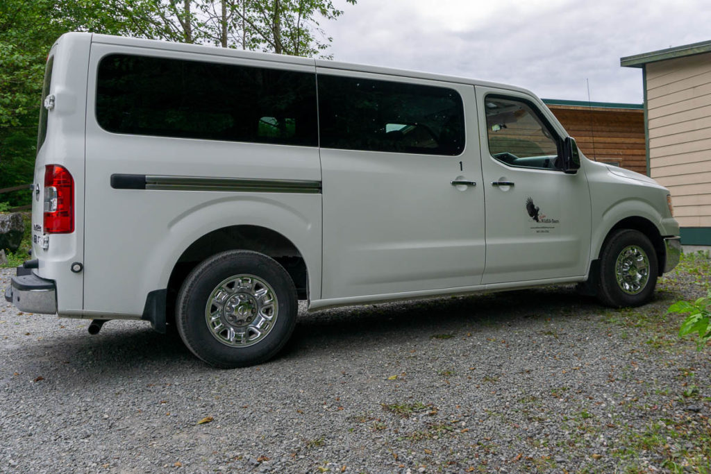 Sitka Wildlife Tours Van