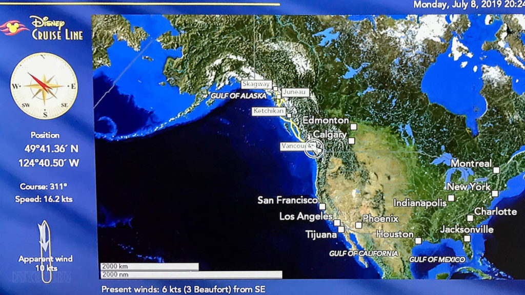 Stateroom Map Wonder Day 1 Vancouver 20190708
