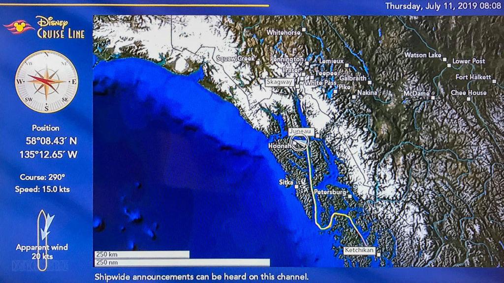 Stateroom Map Wonder Day 4 Icy Strait Point 20190711