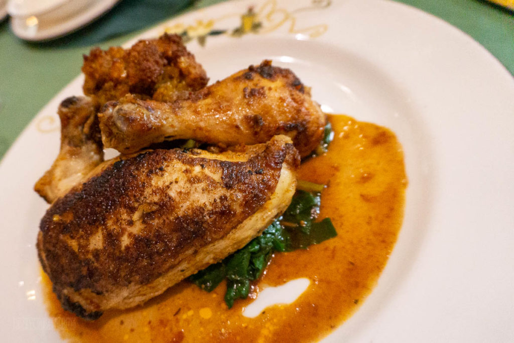 Tiana's Place Mardi Gras Roasted Creole Half Chicken