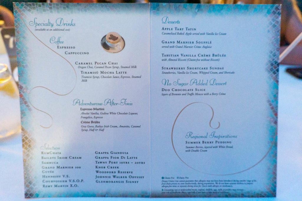 Trition's Dessert Menu Regional Inspirations