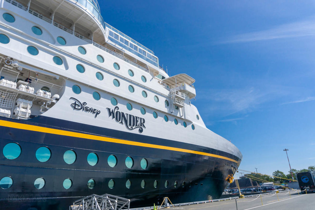 Victoria Cruise Terminal Disney Wonder