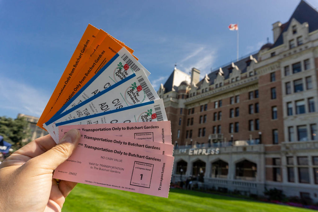 Victoria Empress Hotel CVS Tours Tickets