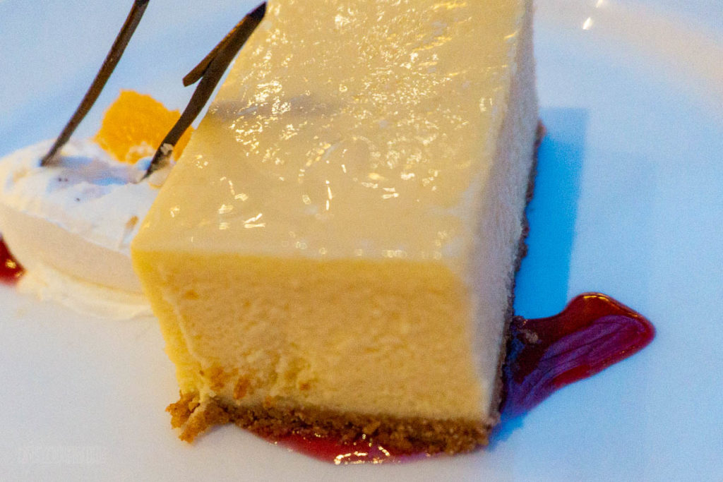 Vista Dessert Citrus Flavored Cheesecake