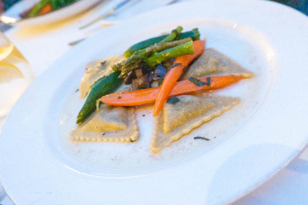 Vista Dinner Portobello Mushroom Ravioli